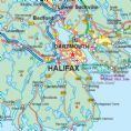 New Brunswick Travel Reference map